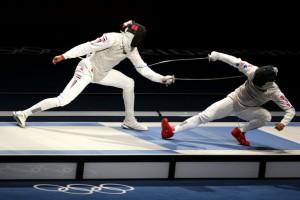 Byungchul+Choi+Olympics+Day+4+Fencing+Fffg3sajZ9bl